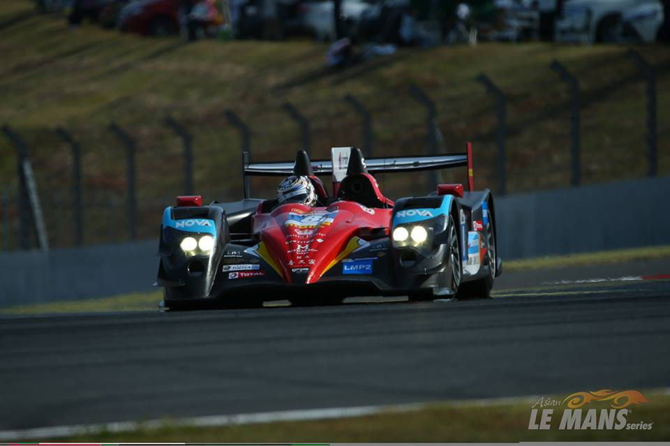 Vitória ficou como o Oreca #8 da Race Performance. (Foto: Asian LMS)