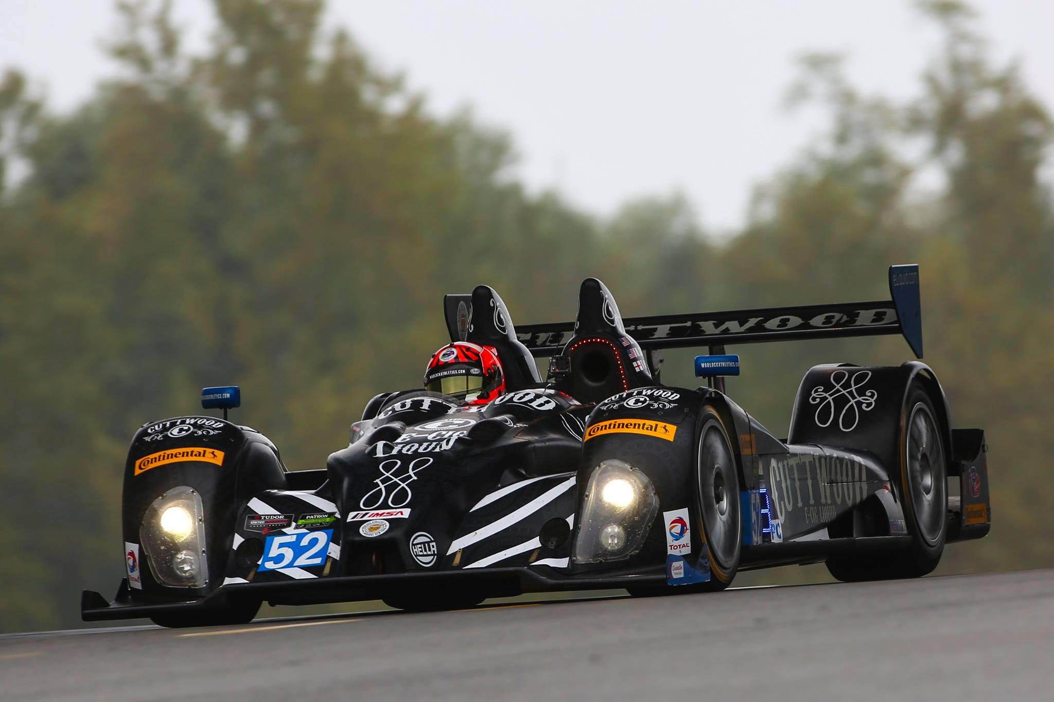 Mesmo com a vitória da equipe PR1, título da classe PC ficou com a CORE Autosport. (Foto: Divulgação IMSA)