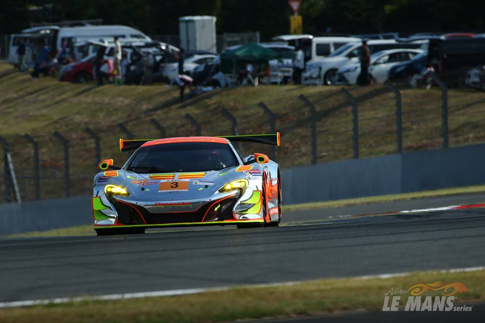 ClearWater Racing vence na classe GT. (Foto: Asian LMS)