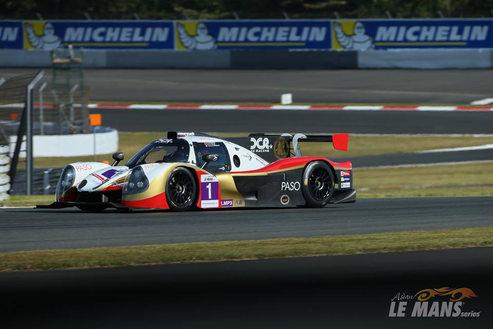 DC Racing vence na classe LMP3. (Foto: Asian LMS)