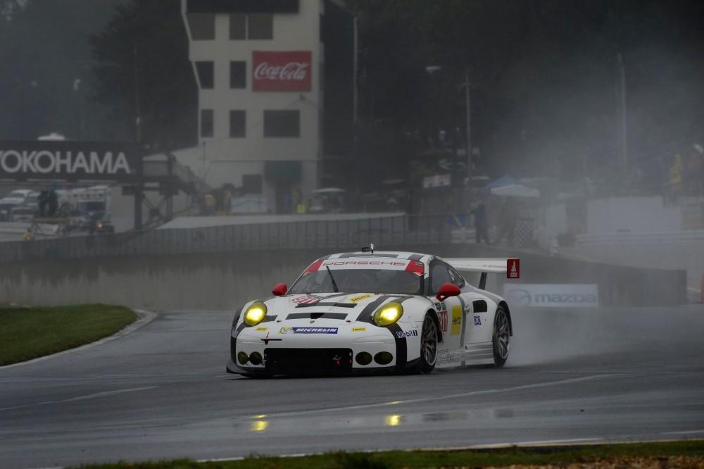 Porsche com uma história vitória no geral. (Foto: IMSA)
