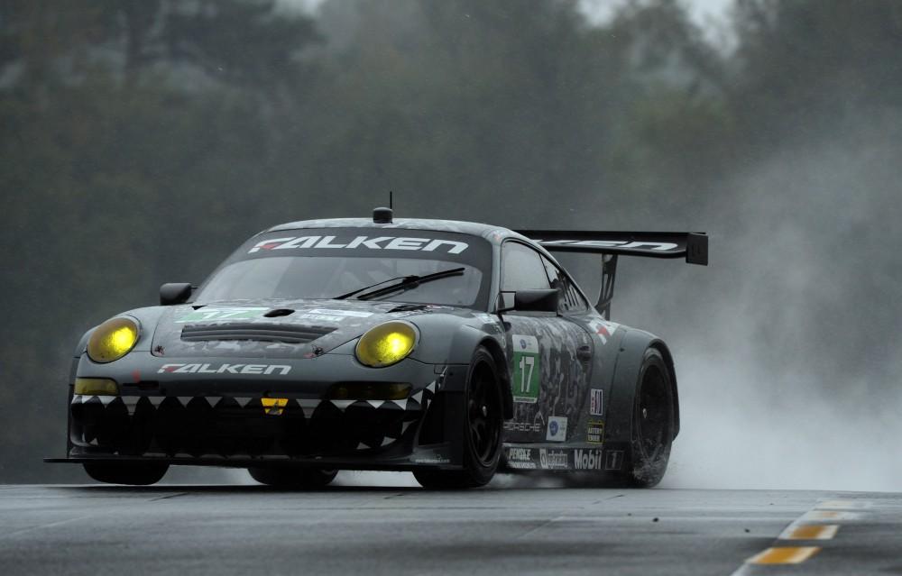 A primeira vitória em Petit Le Mans em 2013. (Foto: IMSA)