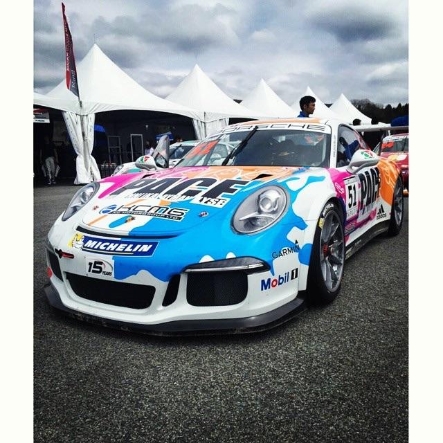 Organização também vai alinhar um Porsche GT3 Cup no Asian LMS. (Foto: Divulgação KCMG)
