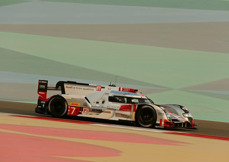 Audi por ter um ritmo melhor durante a noite. (Foto: Joest Racing)