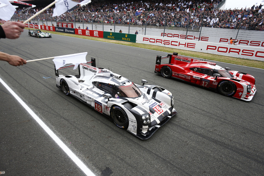 Porsche conquista a 17º vitória em Le Mans. (Foto: Porsche AG)