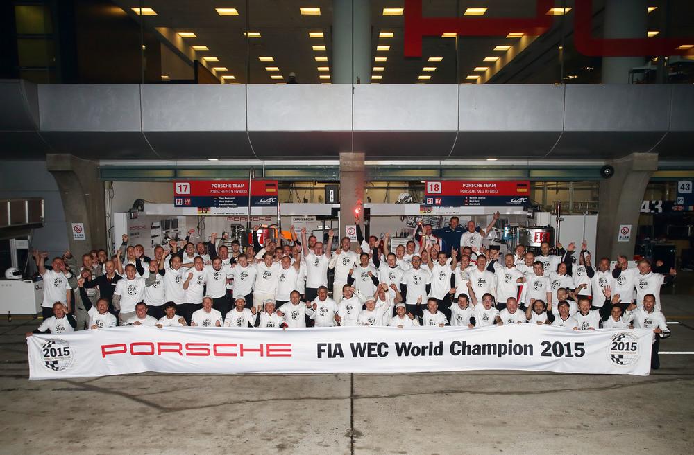Título vem no segundo ano de participação no WEC. (Foto: Porsche AG)