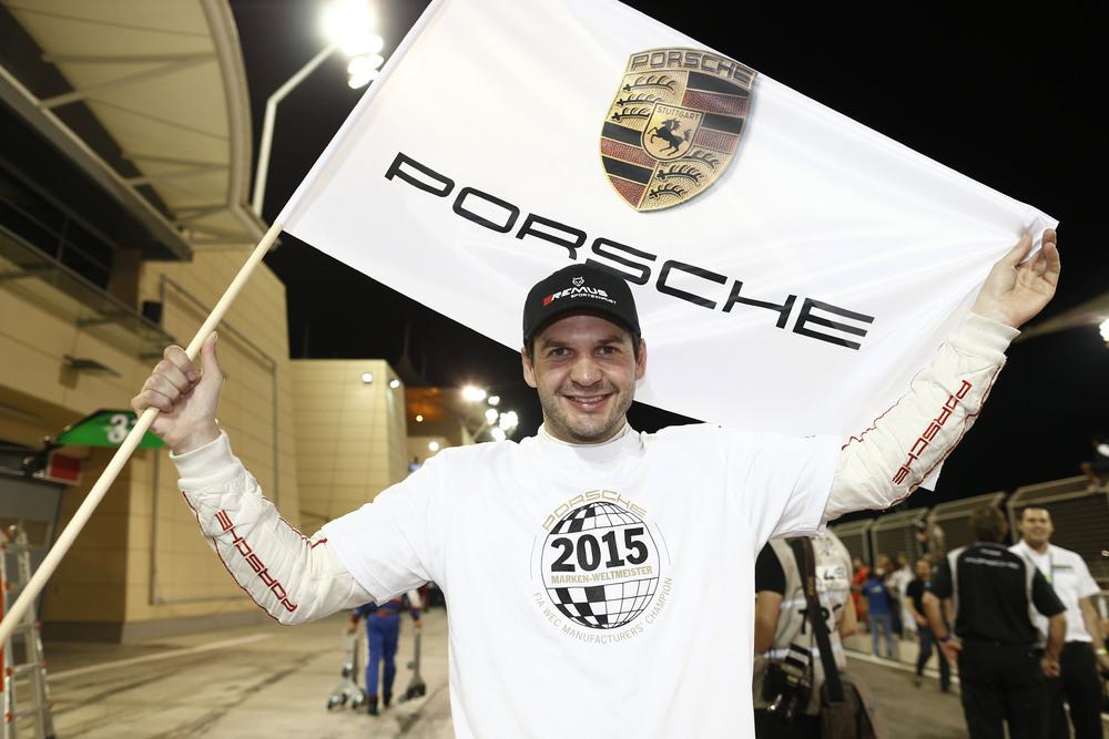 Richard Lietz, campeão pela Porsche também entre os GT. (Foto: Porsche AG)