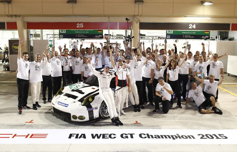 Equipe Manthey Porsche pode não voltar para a classe GTE-PRO do WEC em 2016. (Foto: Porsche AG)