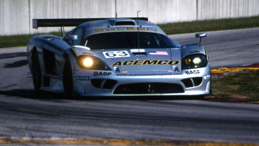 Saleen S7-R lutou pela vitória na classe GT1. (Foto: Arquivo MP)