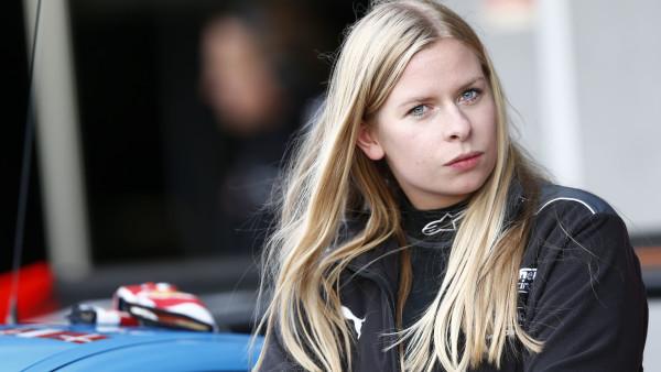 Christina a primeira dinamarquesa a competir em Le Mans. (Foto: Divulgação_