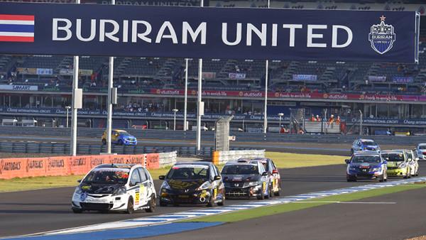 Circuito também recebeu uma etapa do Super GT Racing. (Foto: Buriram Circuit)