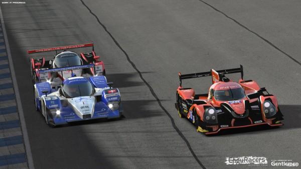 Na foto o Lola B08 e o Ligier JS P2. (Foto: EnduRacers Modding Team)