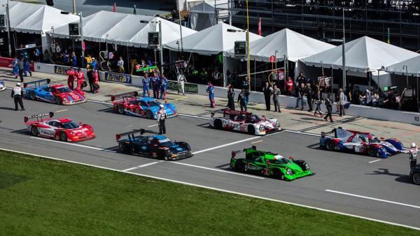 Começo amargo para alguns setores da IMSA em Daytona. (Foto: Michael Shank Racing)