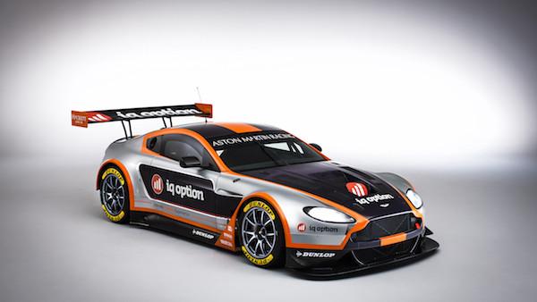 Vantage GT3 também vai estar nas 24 horas de Nurburgring. (Foto: AMR)