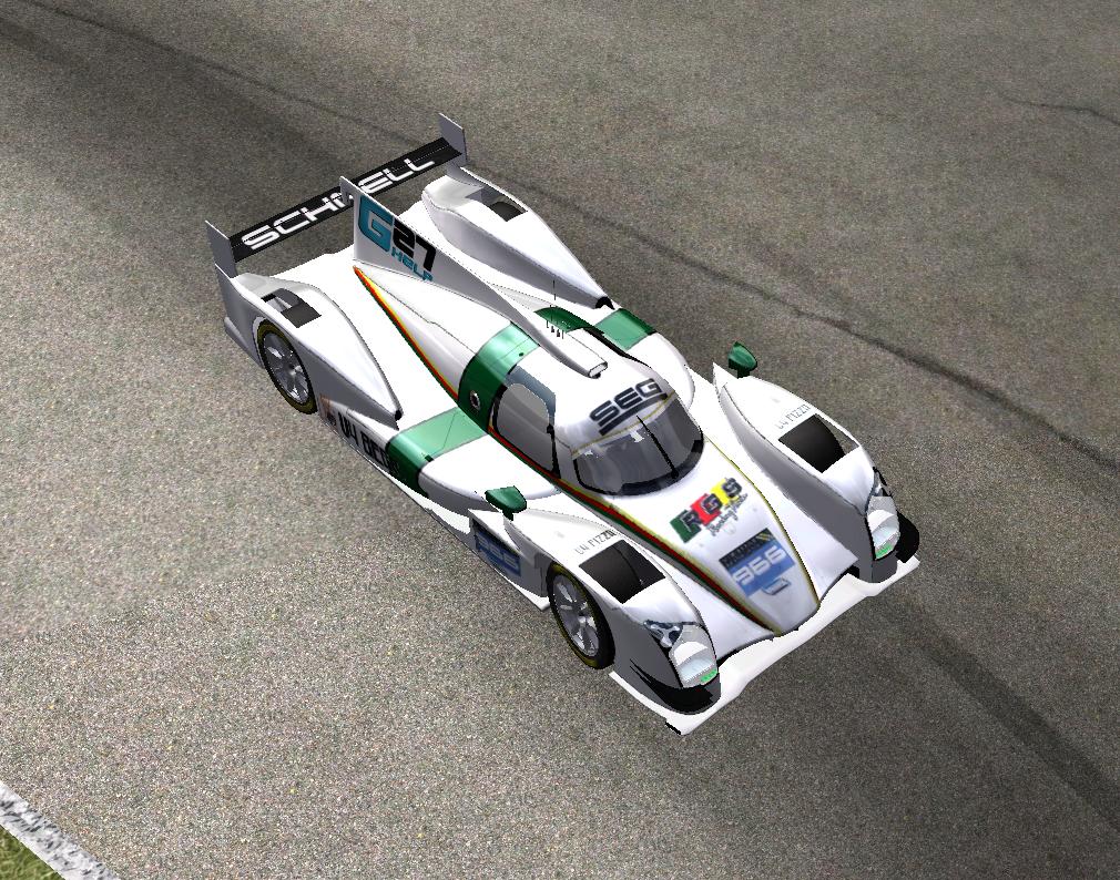 Team Schnell vence la classe LMP2