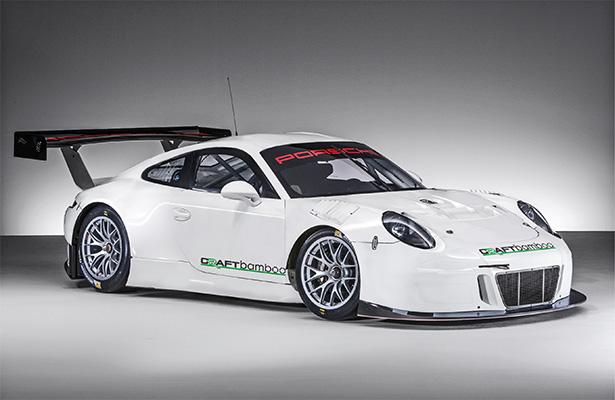 Novo Porsche GT3 RS estreia este ano na Ásia. (Foto: Craft-Bamboo)