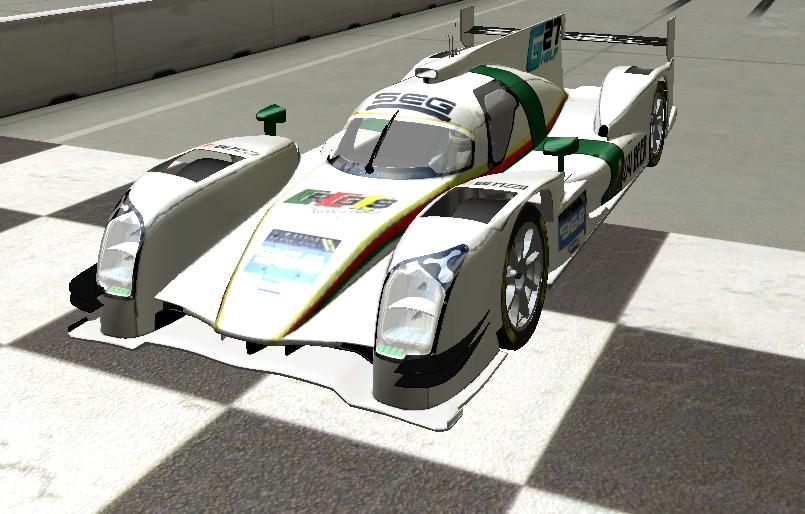 Ricky Esteves vence na classe LMP2.