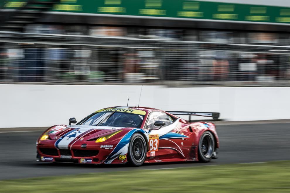 Ferrari também vence na classe GTE-AM. (Foto: FIAWEC)