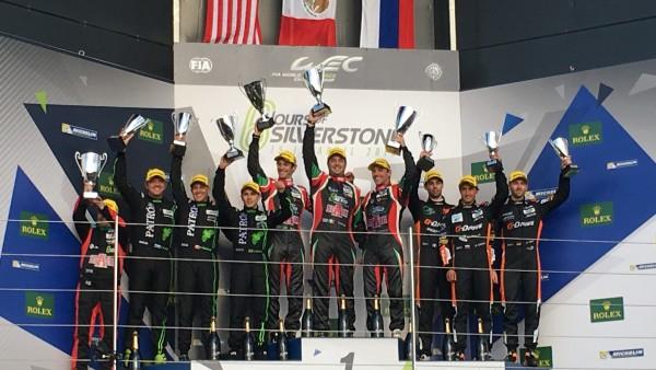 Além de Pipo, pódio teve Bruno Senna na primeira colocação. (Foto: FGCom)