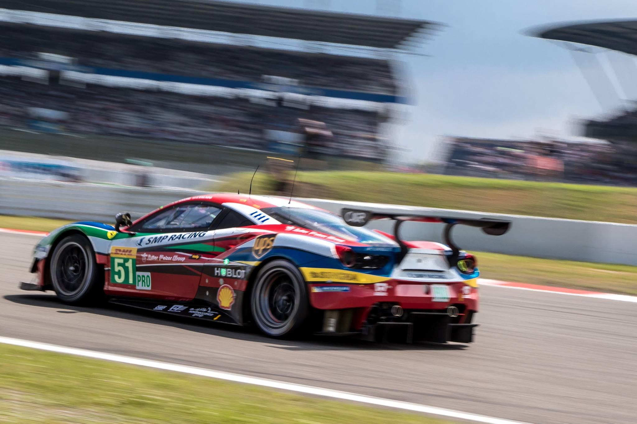 Ferrari da AF Corse vence na classe GTE-PRO. (Foto: FIAWEC)