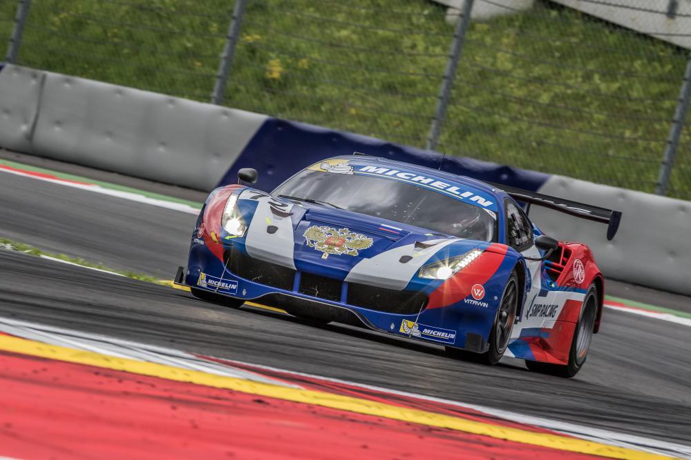 SMP Racing vence de ponta a ponta. (Foto:  GT3 Le Mans Cup)