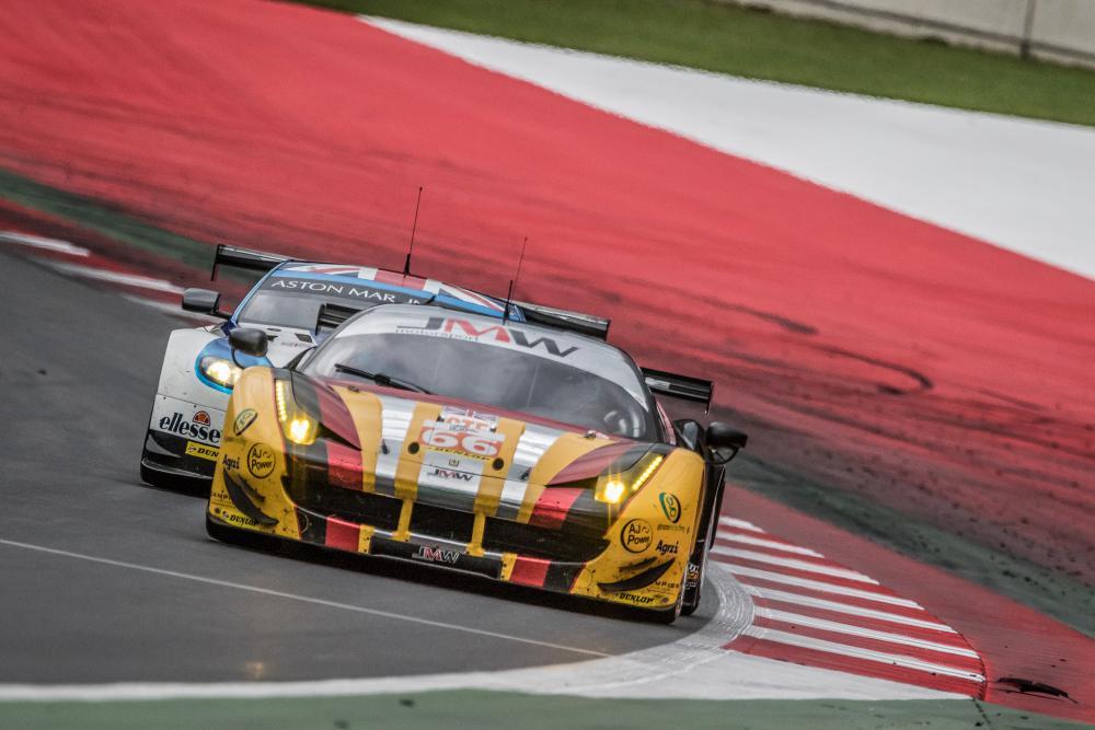Ferrari da JMW Motorsports vence na GTE. (Foto: ELMS)