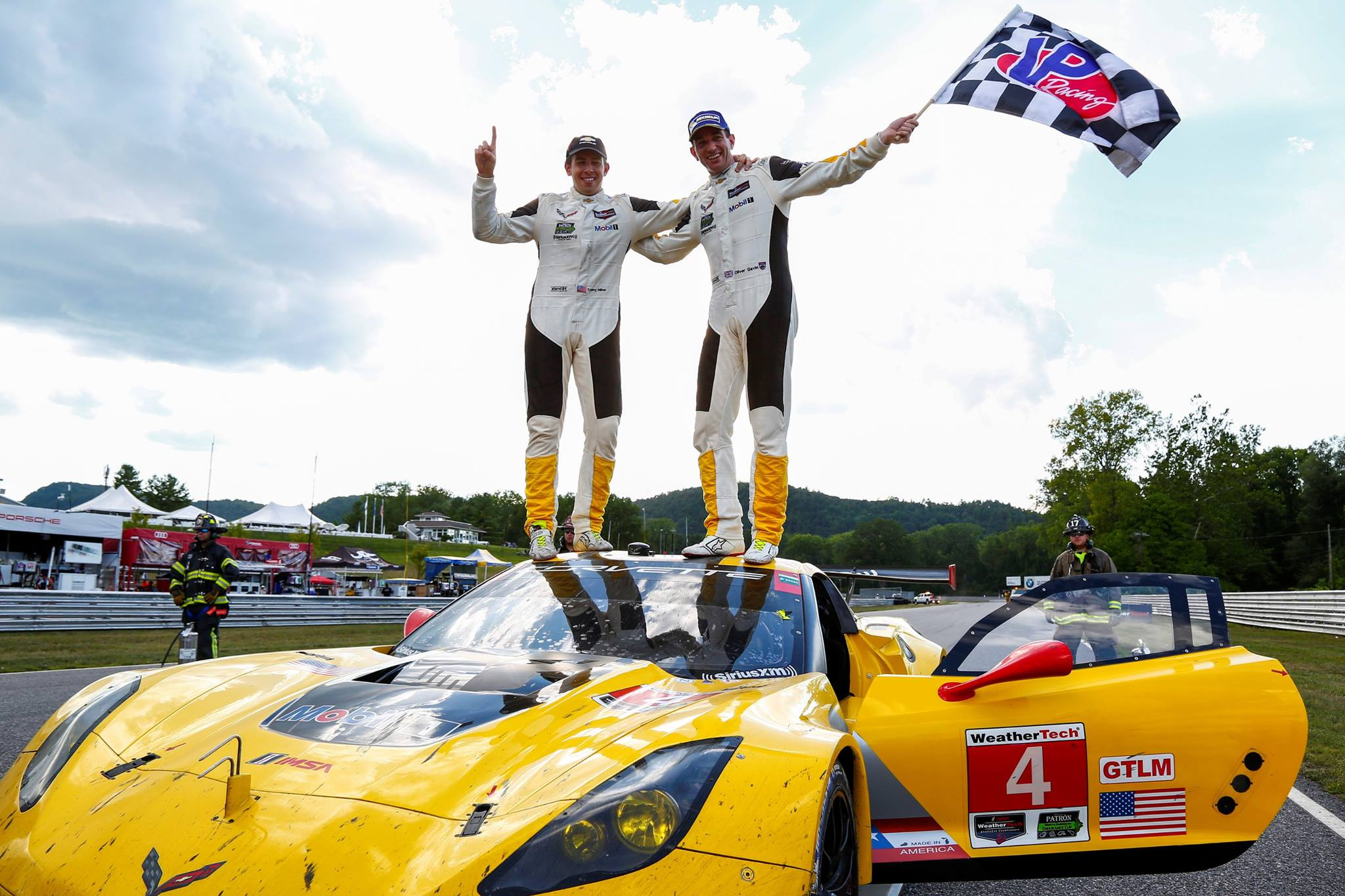 Mais uma vitória para o Corvette #4. (Foto: IMSA)