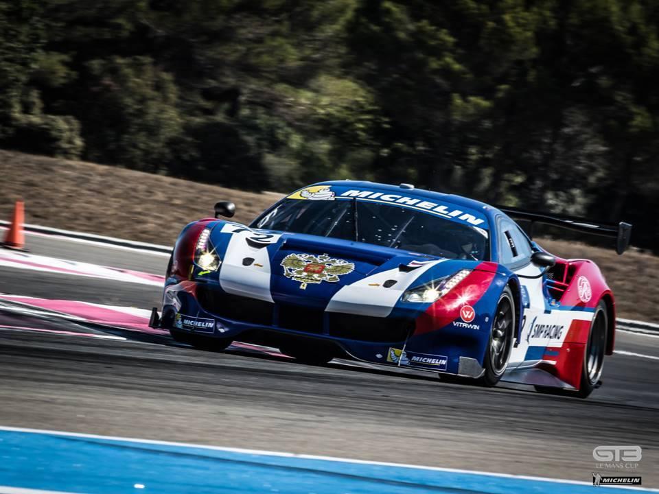 Ferrari da SMP Racing, não encontrou dificuldades para vencer a prova. (Foto: GT3 Le Mans Cup)