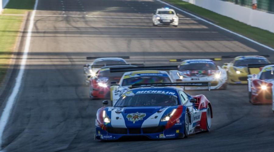 Ferrari não encontrou dificuldades para vencer a prova. (Foto: Adrenalmedia)