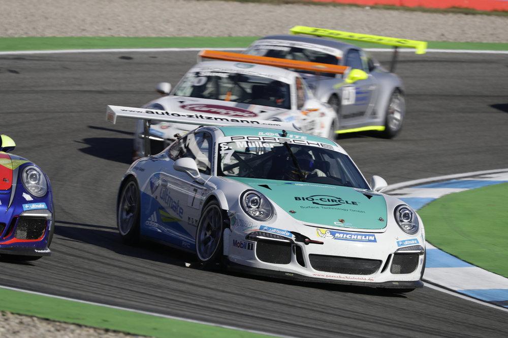 Muller também venceu a Porsche Cup Deutschland. (Foto: Porsche AG)