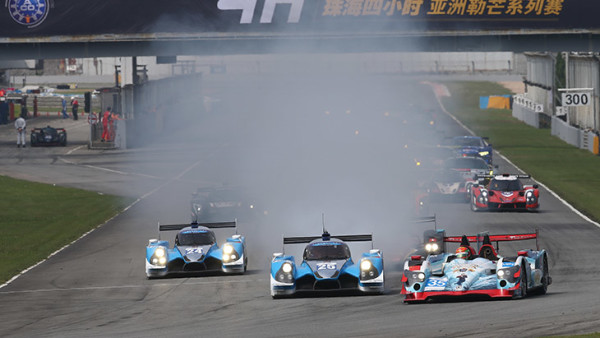 Oreca 03R da DC Racing superou dupla da Algarve Pro Racing. (Foto: DSC)