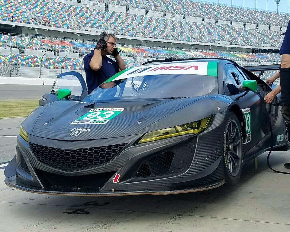 Michael Shank Racing, troca os protótipos pelo novo Acura NSX GT3. (Foto: Divulgação)