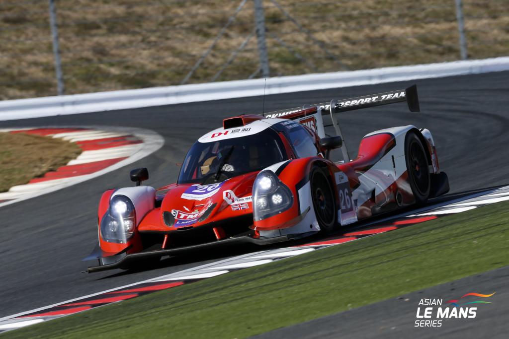 Tockwith Motorsports, vence na LMP3. (Foto: Asian LMS)