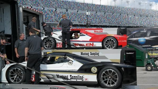 Dobradinha da Action Express entre os protótipos da classe P. (Foto: Action Express Racing)