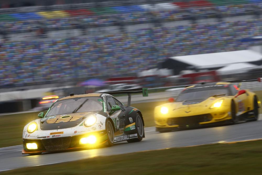 Vitória na classe GTD. (Foto: Porsche AG)