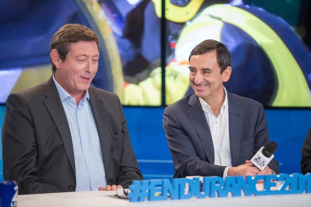 Gerar Neveu e Pierre Fillon, presidente da ACO. (Foto: AdrenalMedia)