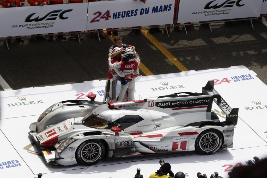Em 2012, Audi vence com seu primeiro protótipo híbrido. (Foto: Adrenal Media)