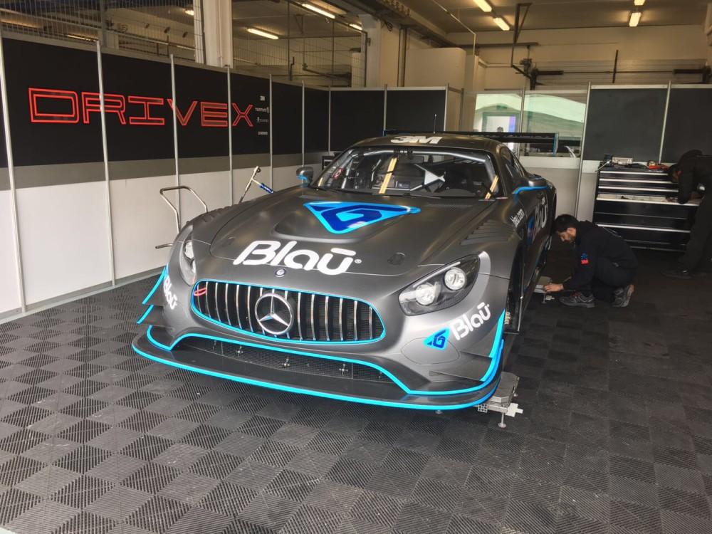 A Mercedes CLA AMG GT3 da Blau Motorsports  (Divulgação)
