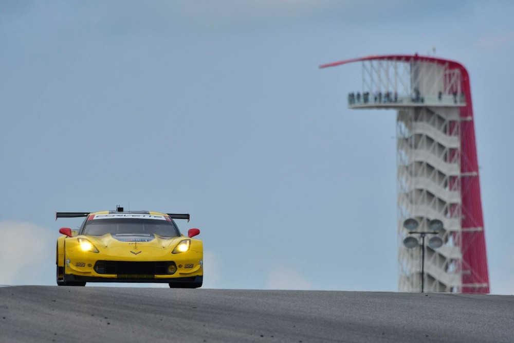 Corvette vence mais uma na classe GTLM. (Foto: IMSA)