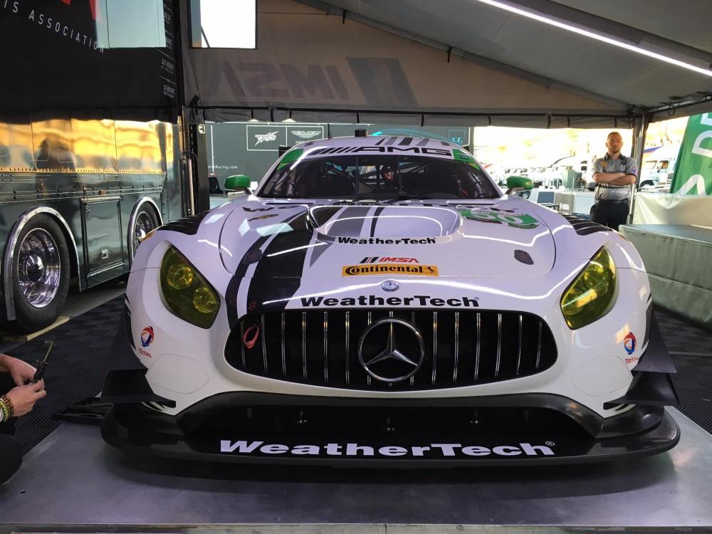 Mercedes vence na classe GTD. (Foto: IMSA)