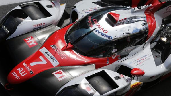 Toyota compete pela primeira vez com três TS050. (Foto: Toyota Racing)
