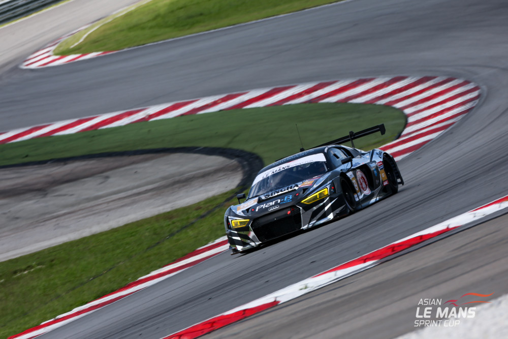 Audi da Singha Plan B Motorsport, vence na classe GT3. (Foto: Asian LMS)