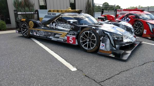 A nova pintura do carro de Fittipaldi, Barbosa e Albuquerque  (Action Express Racing)