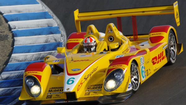 Porsche com as cores da Penske em 2008. (Foto: Divulgação)