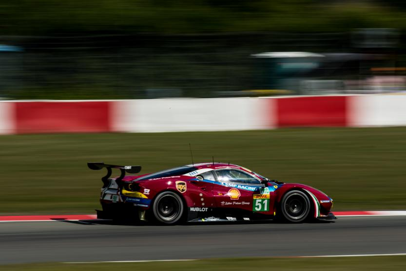AF Corse vence na classe GTE-PRO. (Foto: AdrenalMedia)