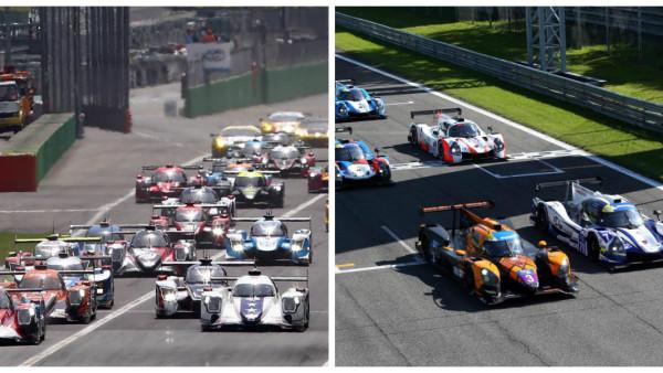 ELMS (dir) e Le Mans Cup, chegam ao Red Bull Ring. (Fotos: ELMS e LM Cup)