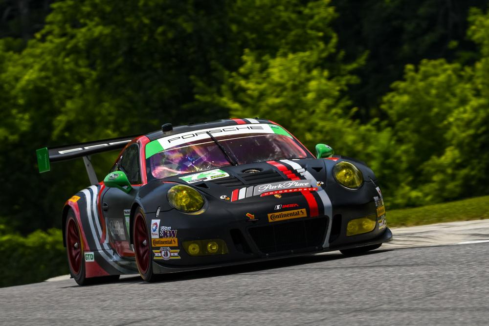 911 também liderou na classe GTD. (Foto: Porsche AG)