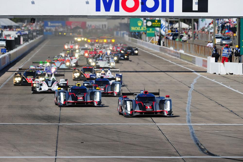 Protótipos LMP1 voltam ao circuito americano. (Foto: Rick Dole/Getty Images)