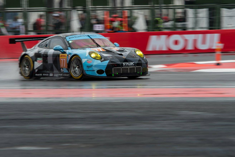 Porsche da equipe Proton vence a segunda na classe GTE-AM. (Foto: FIAWEC)