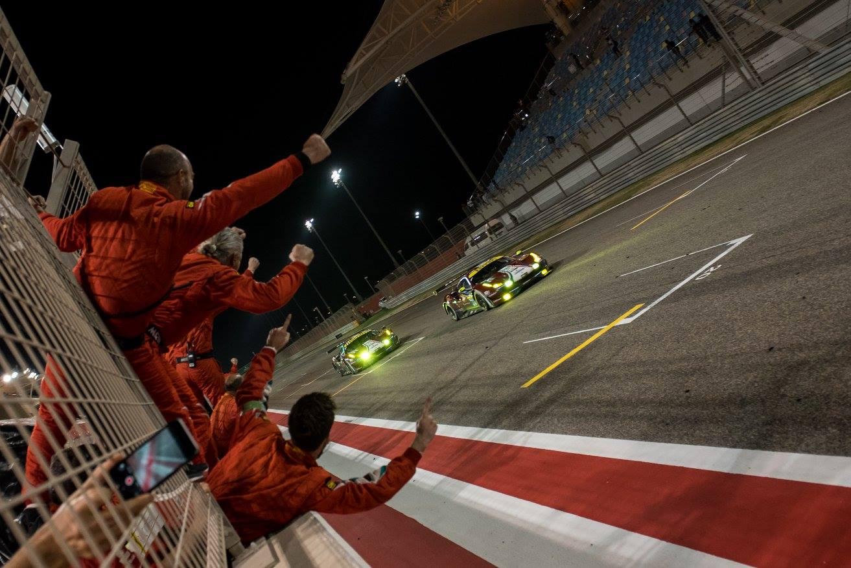 Ferrari termina temporada com título e dobradinha na classe GTE-AM. (Foto: FIAWEC)